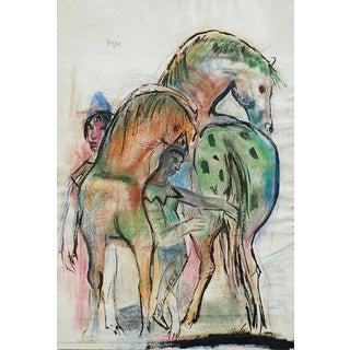 Josef Presser Horses and Figures For Sale
