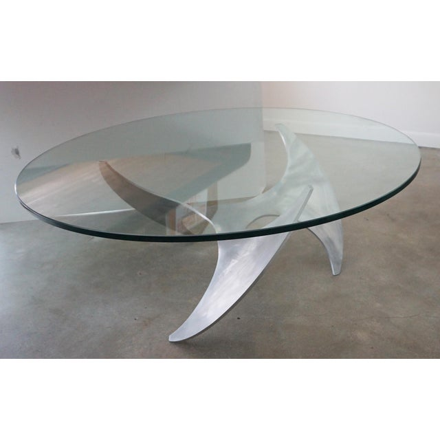 Contemporary Knut Hesterberg Propeller Cocktail Table For Sale - Image 3 of 6