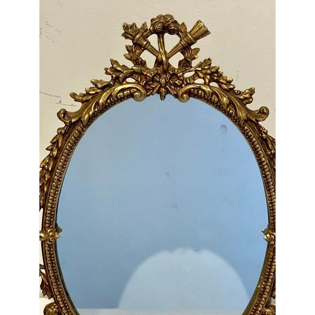 Napoleon III Bronze Dressing Mirror For Sale In Atlanta - Image 6 of 10