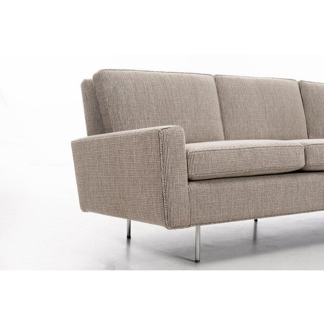 Gray 1950s Vintage Florence Knoll Sofa For Sale - Image 8 of 11