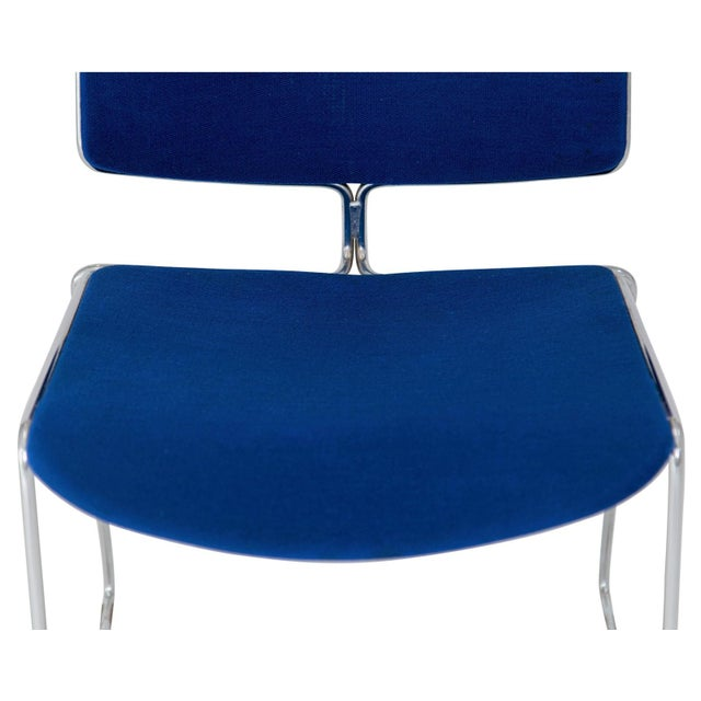 Steelcase Steelcase Max Stacker Chairs - Set of 8 For Sale - Image 4 of 10