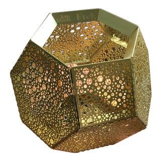 Tom Dixon Gold Votive- 1 Available