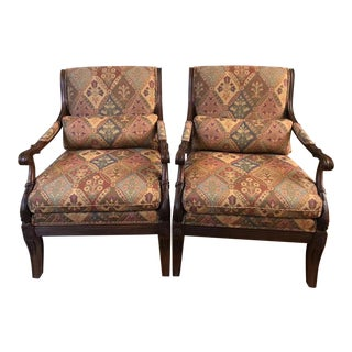 Modern Ethan Allen Regency Style Chair- A Pair For Sale