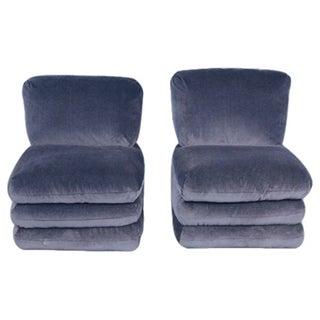 Vice Versa Donghia Slipper Chairs - A Pair