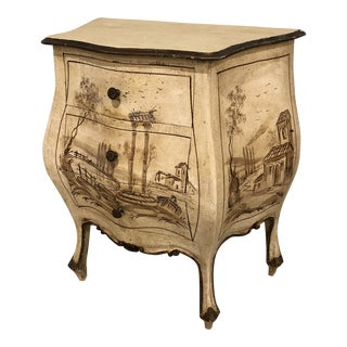 Mid 20th Century Italian Diminutive Bombe Commode For Sale