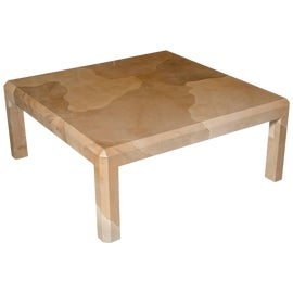 Image of Goat skin Coffee Tables
