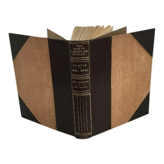 """The North American Indian"" Leather Bound Book"
