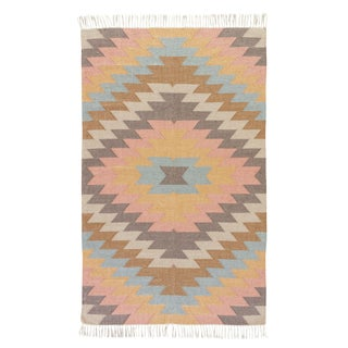 Jaipur Living Mojave Indoor/ Outdoor Geometric Area Rug - 10′ × 14′ For Sale