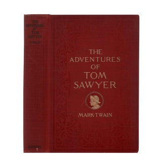 "1910 ""The Adventures of Tom Sawyer"" Collectible Book For Sale"