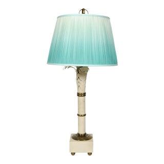 Vintage Maison Charles Palm Lamp For Sale