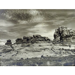 "Lloyd M. Pyeatt ""Cross Bedding"" Rock Formations Photograph For Sale"