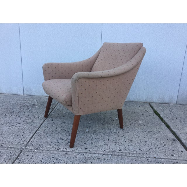 Vintage Danish Modern Lounge Chairs - A Pair - Image 6 of 11