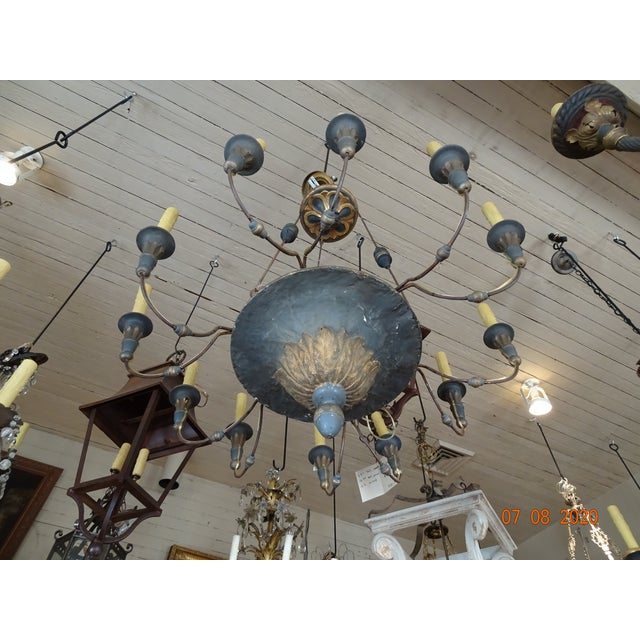 19th Century Italian Chandelier For Sale - Image 10 of 13