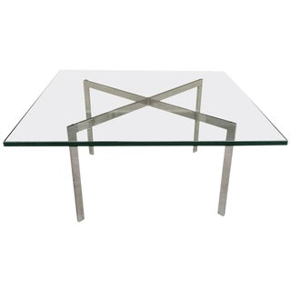 Barcelona Table by Mies van der Rohe for Knoll For Sale