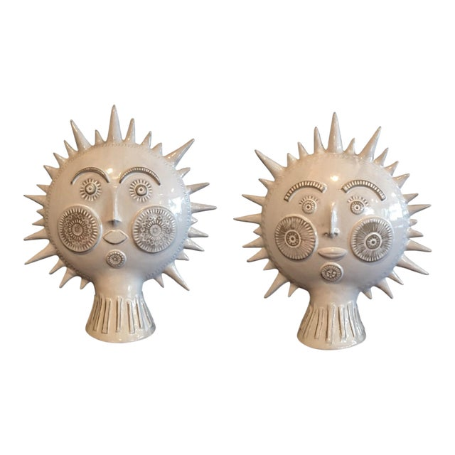 Original Jonathan Adler Utopia Sun Reversible Face Sculpture