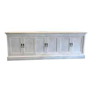 19th Century English Notary Sideboard Restoration Hardware For Sale
