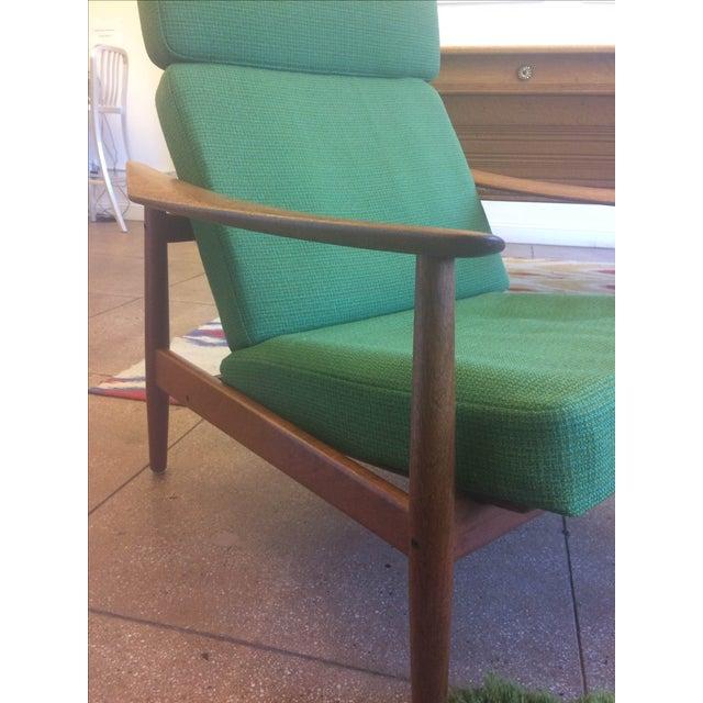 Danish Modern Teak Lounge Chairs - A Pair - Image 3 of 7