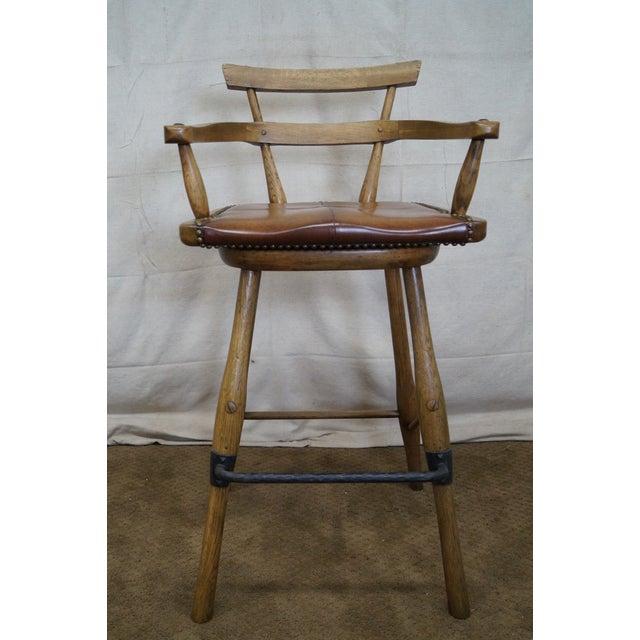 Jonathan Charles Architect's Arm Chair - Image 10 of 10