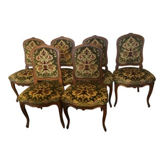 Louis XV Style Dining Chairs- Set of 6 For Sale