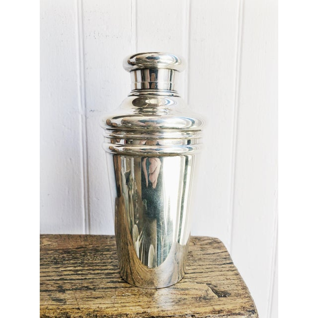 Antique Tiffany and Co Sterling Cocktail Shaker For Sale - Image 9 of 12