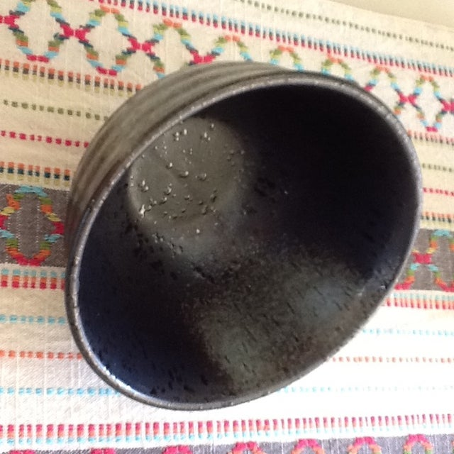 Black & Gray Pottery Bowls - Set of 4 - Image 10 of 11