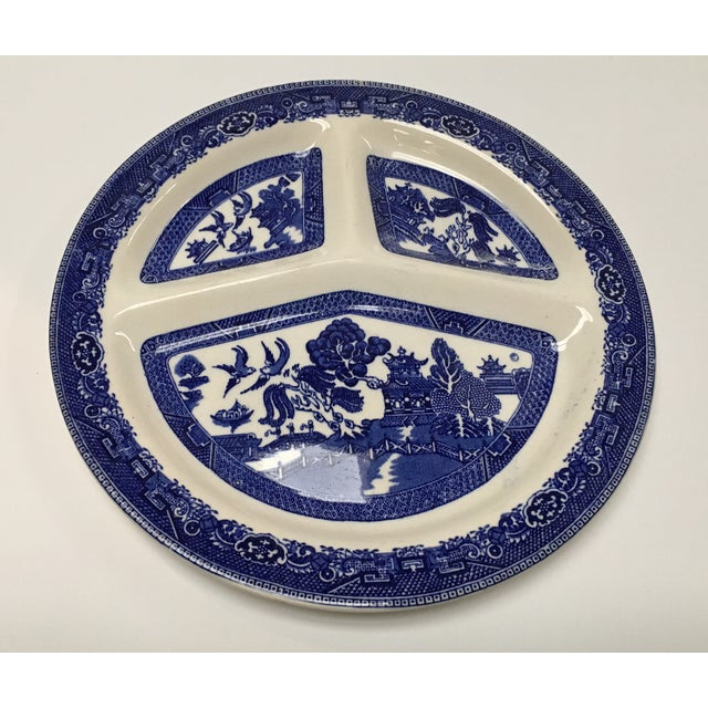 Vintage Blue Willow Romarco Plates - Set of 4 For Sale - Image 5 of 8