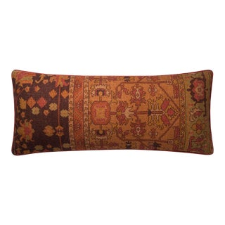 """Justina Blakeney X Loloi Rust 13"""" X 35"""" Cover with Down Pillow For Sale"""