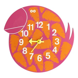 """Vitra George Nelson Zoo Timer """"Talulah the Toucan"""" Wall Clock For Sale"""