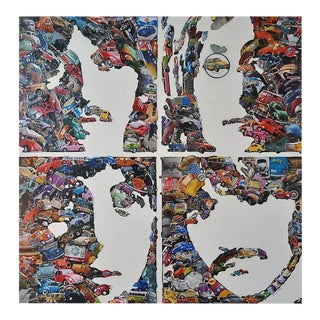"""""""The Beatles"""" Mixed-Media Collage by Dennis Stevens For Sale"""