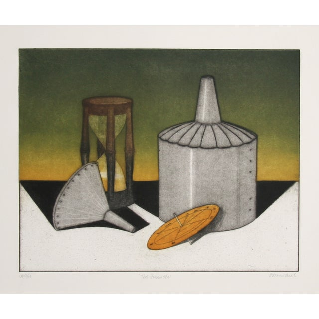 Tighe O'Donoghue, Funnel, Etching With Aquatint For Sale