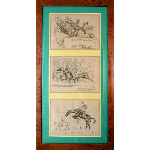 Paul Brown Original Trio of Triptych II Etchings For Sale