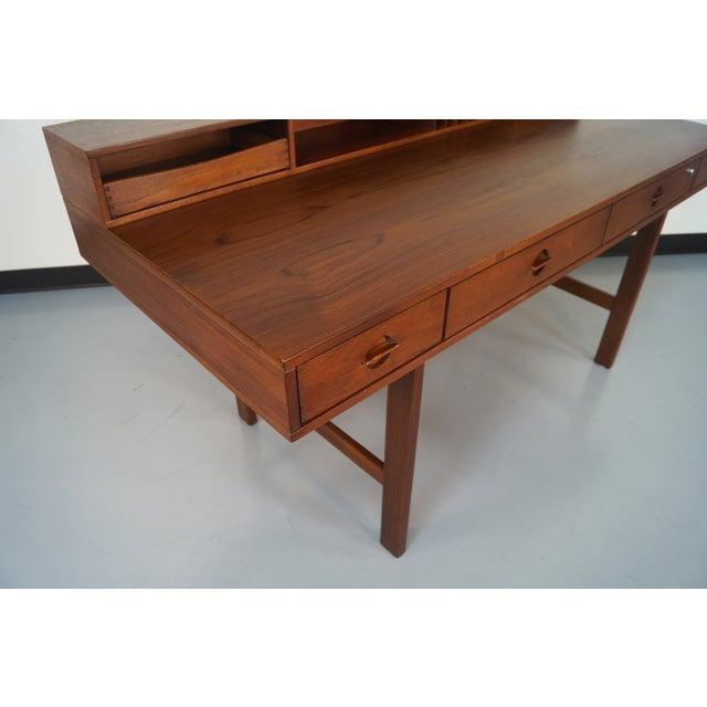 Jens Quistgaard Teak Flip -Top Desk - Image 3 of 7