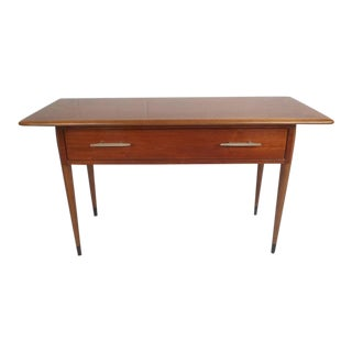 Unique Mid-Century Modern Console Table by Lane