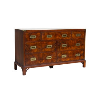 Burlwood Campaign Dresser by Hekman Preview