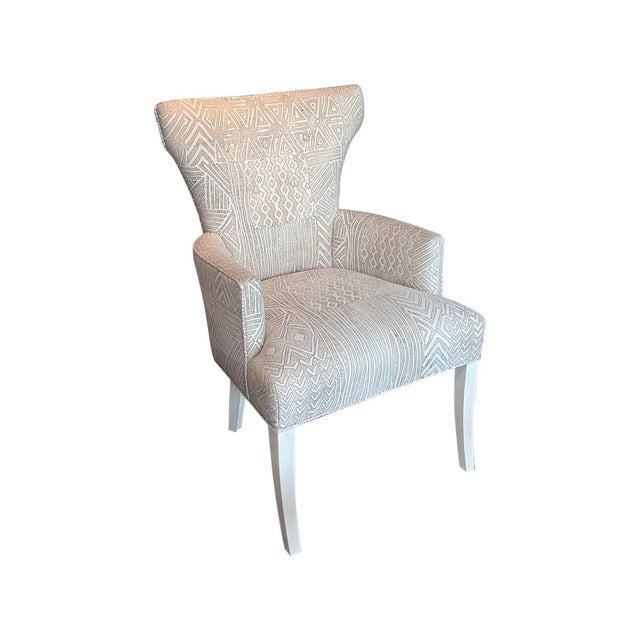 Fremarc Fremarc Designs Upholstered Arm Chair (2 Available) *Priced Individually For Sale - Image 4 of 4