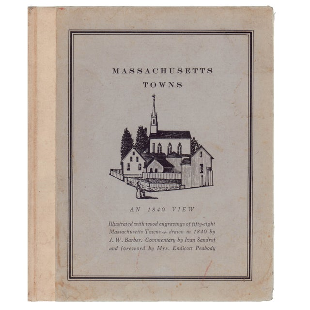 Massachusetts Towns: An 1840 View - Image 1 of 2