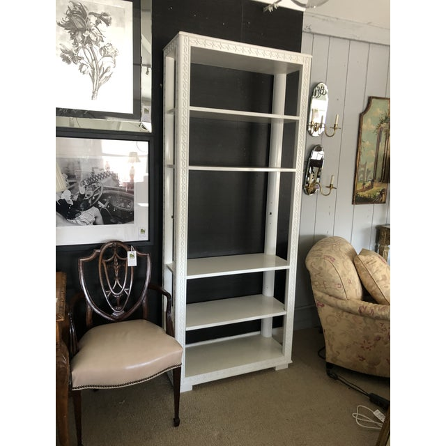 English Country Style Bookcase Étagère For Sale - Image 11 of 13