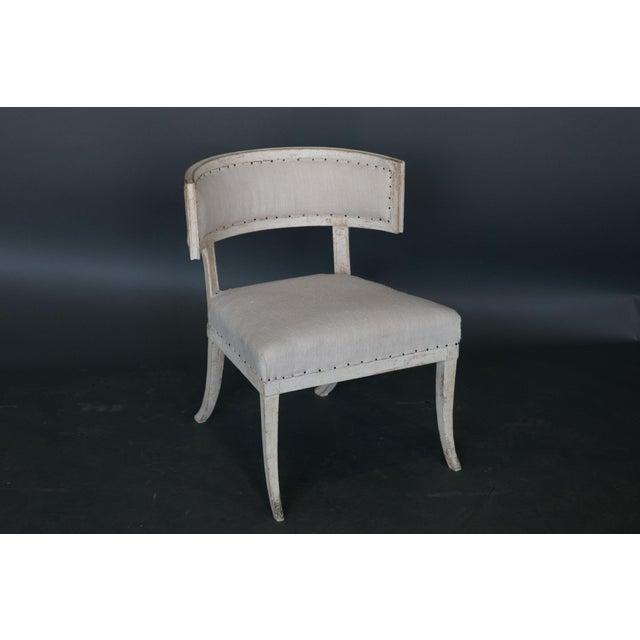 Antique 18th Century Large Gustavian Klismos Chair - Image 6 of 6