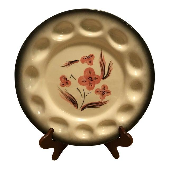 Brock Pottery of California Deviled Egg Platter For Sale