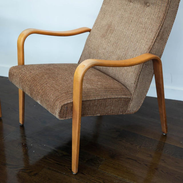 Pair of Thonet Bentwood Armchairs For Sale In New York - Image 6 of 12