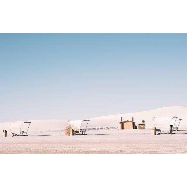 White Sands Landscape Original Framed Photograph For Sale In Los Angeles - Image 6 of 6