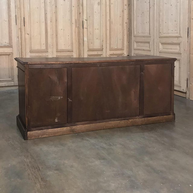 19th Century French Empire Mahogany Credenza With Bronze Ormolu For Sale - Image 11 of 12