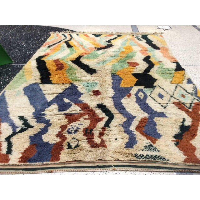 Early 21st Century Multi-Color Moroccan Rug - 8′3″ × 11′5″ For Sale - Image 5 of 8