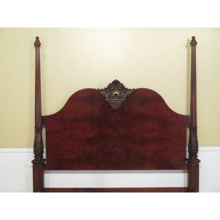Henredon King Size Mahogany Poster Bed Preview