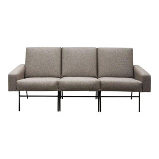 1950s Vintage Pierre Guariche for Airborne Three-Seat Sofa For Sale