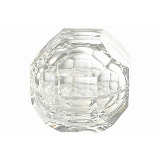 "Italian Faceted Crystal 5"" Orb Box Preview"