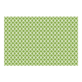 Fern Trellis Greenery Linen Cotton Fabric, 6 Yards For Sale