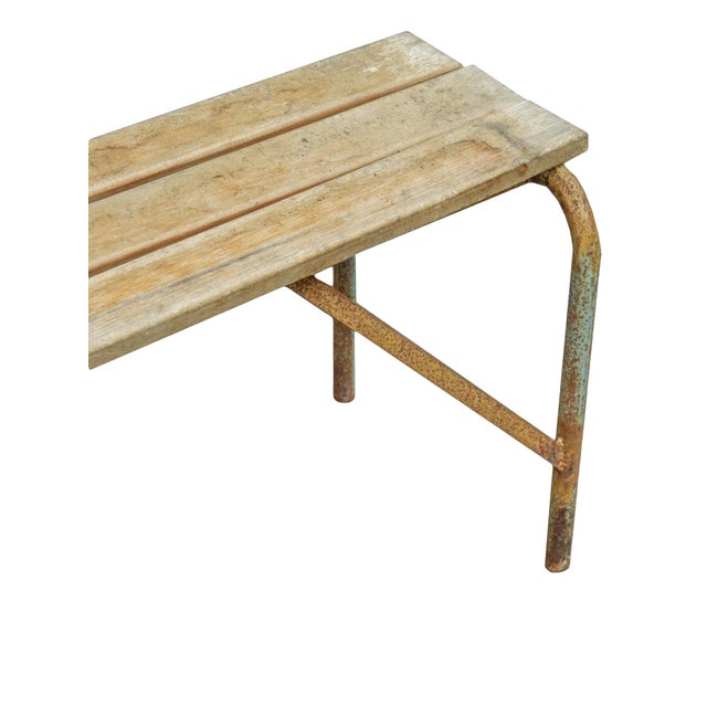 Pair of Swedish Industrial Benches For Sale - Image 10 of 13