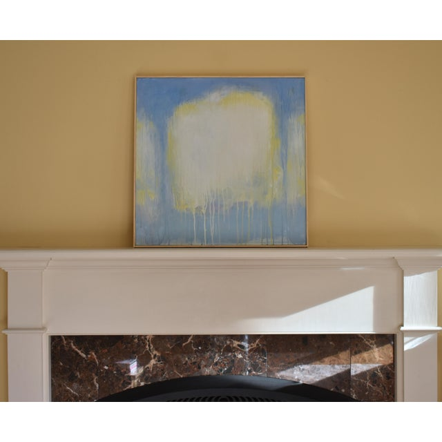 "Abstract Stephen Remick ""Spring Equinox"" Abstract Painting For Sale - Image 3 of 10"