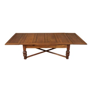English Draw Leaf Coffee Table For Sale